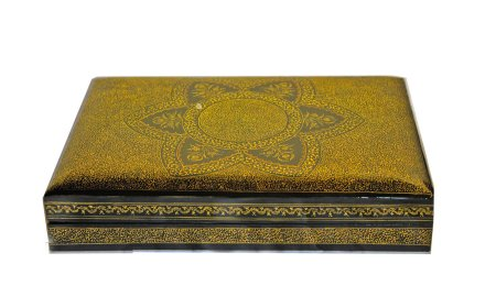 fine gold art box