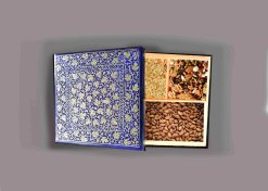 dry fruit box blue,