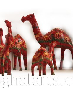 Camel carvings