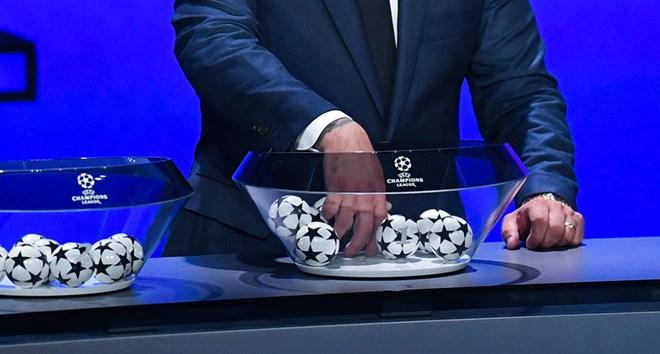 UEFA Şampiyonlar Ligi'nde kuralar çekildi! İşte eşleşmeler