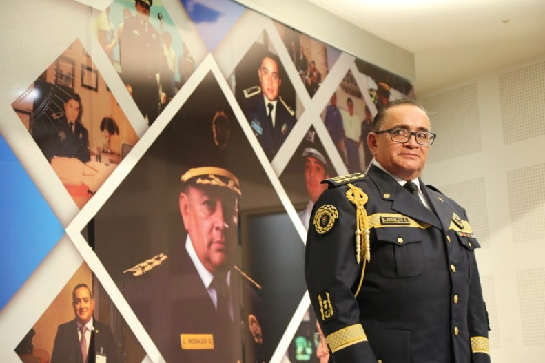 Fotografía: SSC CDMX Luis Rosales Gamboa, subsecretario de Operación Policial, con indicativo Apolo