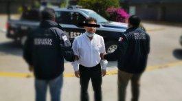 Fotografía: Policía estatal de Oaxaca
