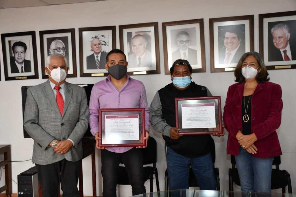 Ingenieros Alejandro Romero Paillez y Carlos Torres García/ Fotografía: Cortesía