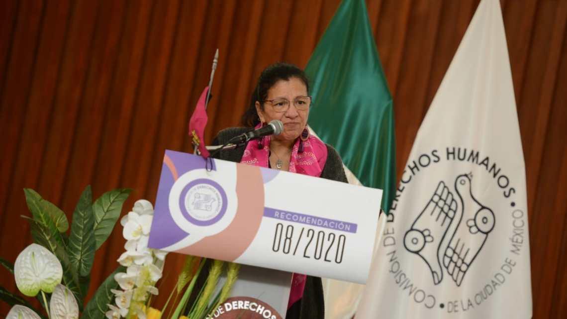 Fotografía: Comisión de Derechos Humanos de la Ciudad de México(CDHCM)