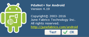 pdanet android
