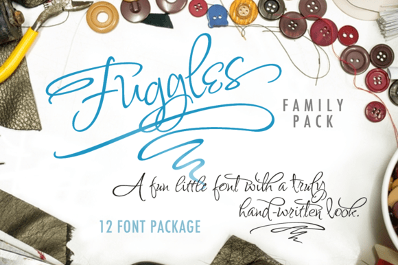 Fuggles Font Family Preview