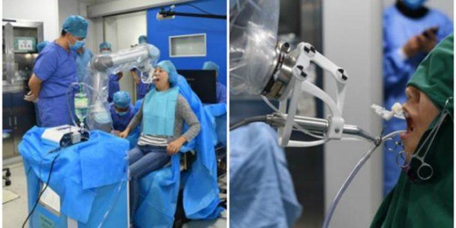 implant yapan robot