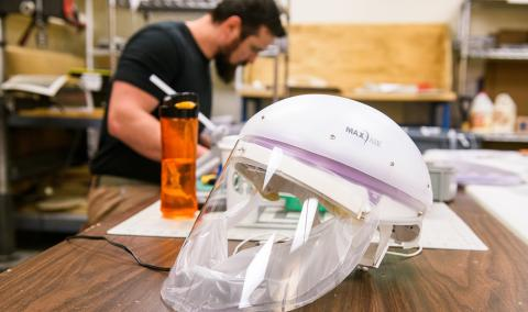 CAPR masks provided by the Hacking COVID-19 Task Force