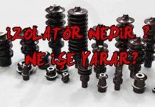 izolatör çeşitleri - izolatör nedir - izolatör nerelerde kullanılır