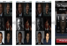 NeuroPhone sistemi ile Iphone telefonla Tim 'in aranması