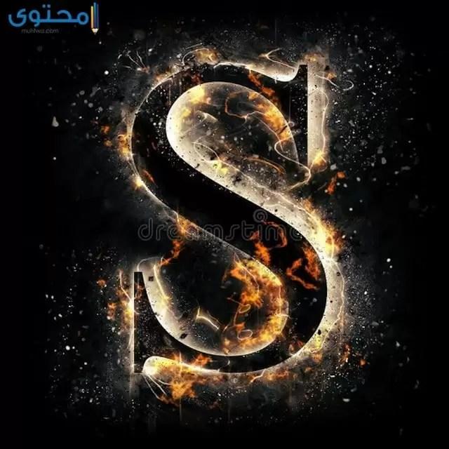خلفيات واتساب حرف S
