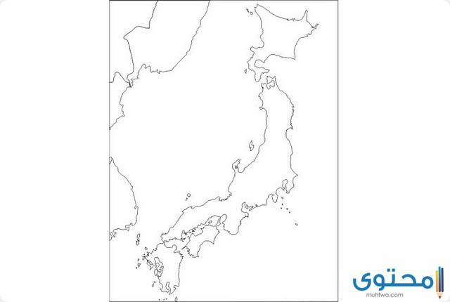 خريطة اليابان وحدودها كاملة بالعربي موقع محتوى