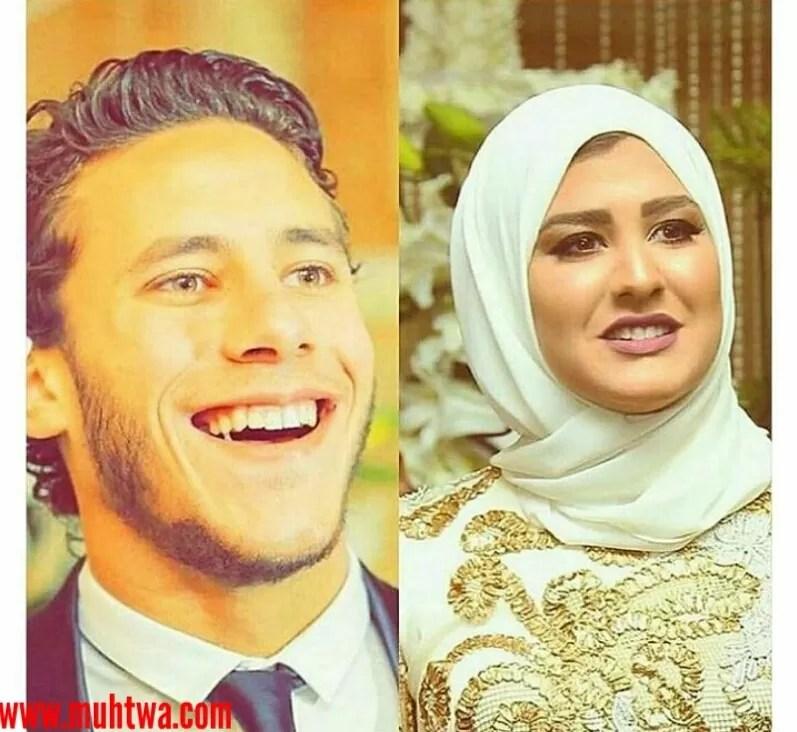 صور زفاف رمضان صبحى وحبيبة إكرامى 2018 موقع محتوى