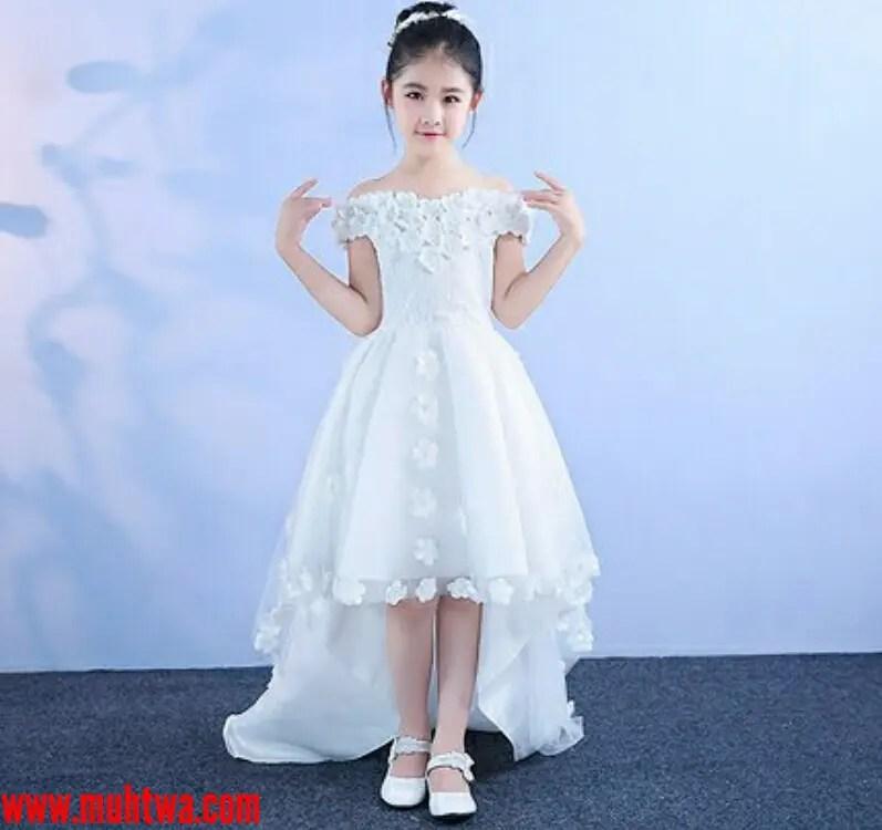 أحدث فساتين الزفاف للأطفال موقع محتوى