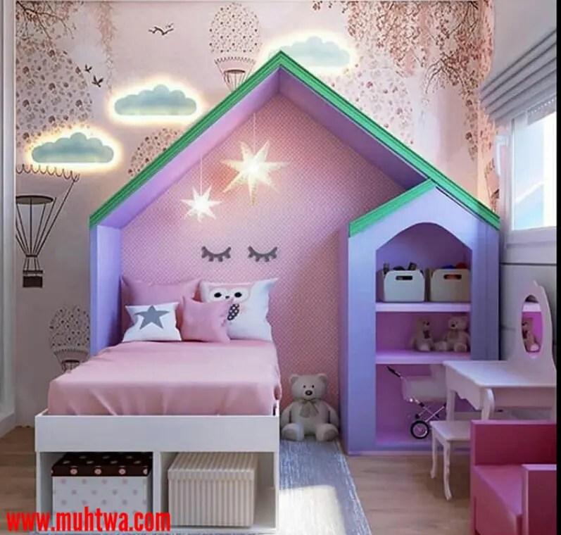 ديكورات غرف اطفال 2019 مودرن موقع محتوى