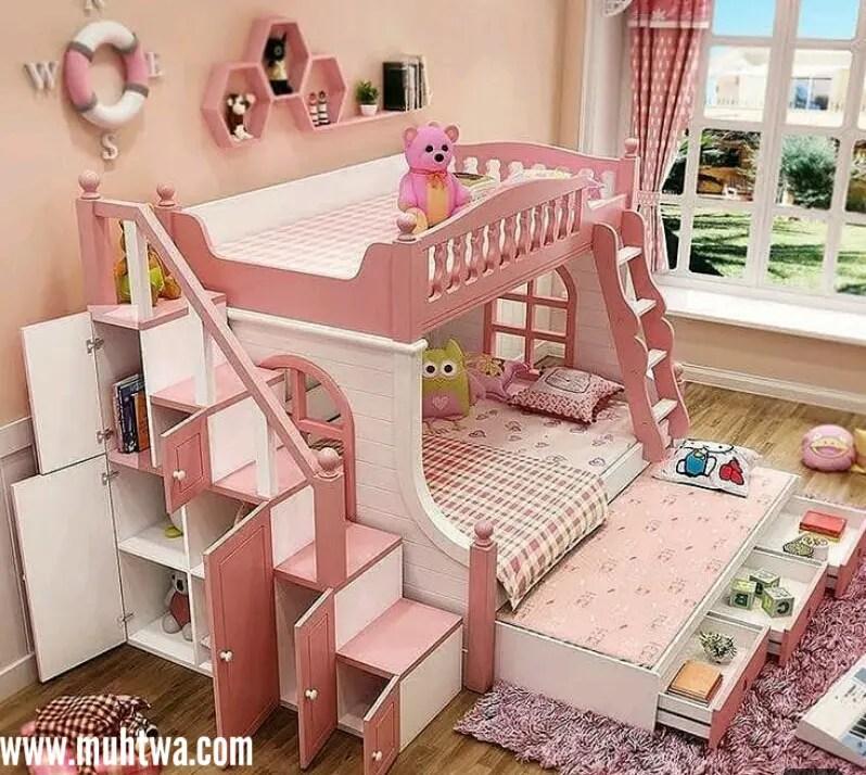 صور ديكورات غرف نوم اطفال 2020 Kids Room حديثة موقع محتوى