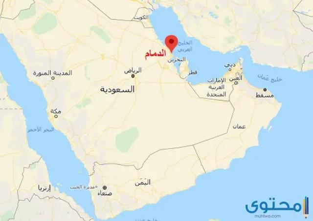 خريطة مناطق المملكة العربية السعودية ومحافظاتها
