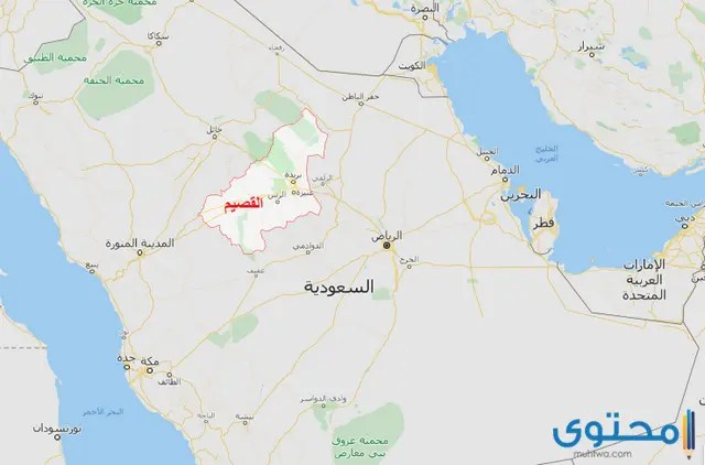 خريطة السعودية بالمدن كاملة بالتفصيل موقع محتوى