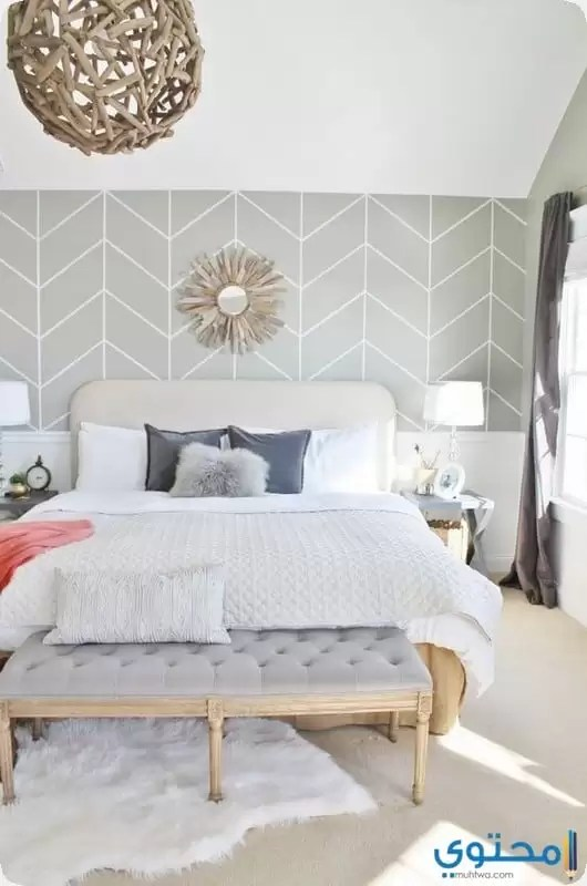 اشكال ورق حائط غرف النوم 2019 موقع محتوى
