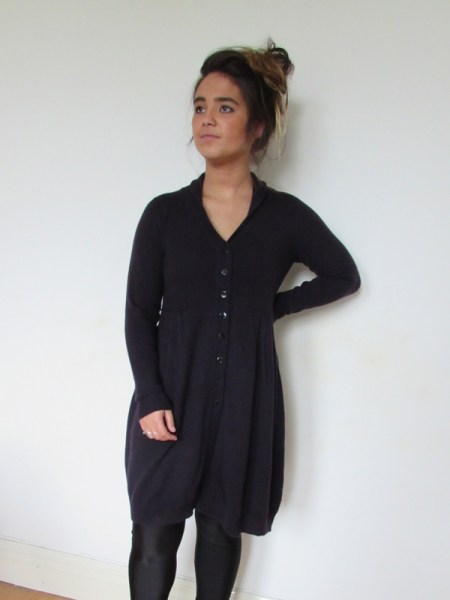 Collar Coat Dress 1