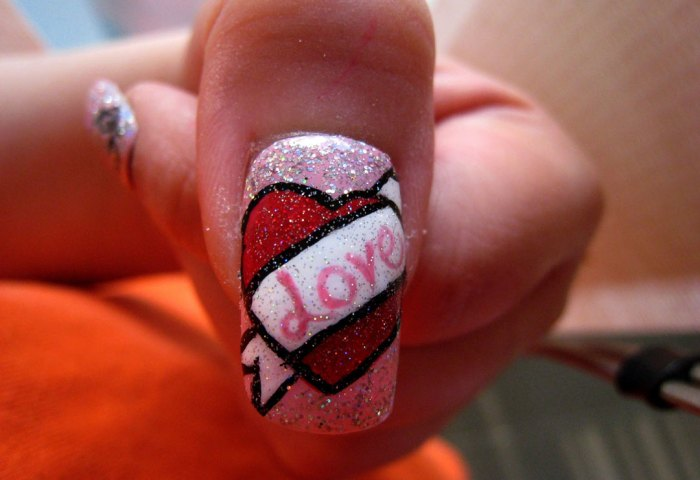 5 Ideas De Nail Art Para San Valentín Mujer