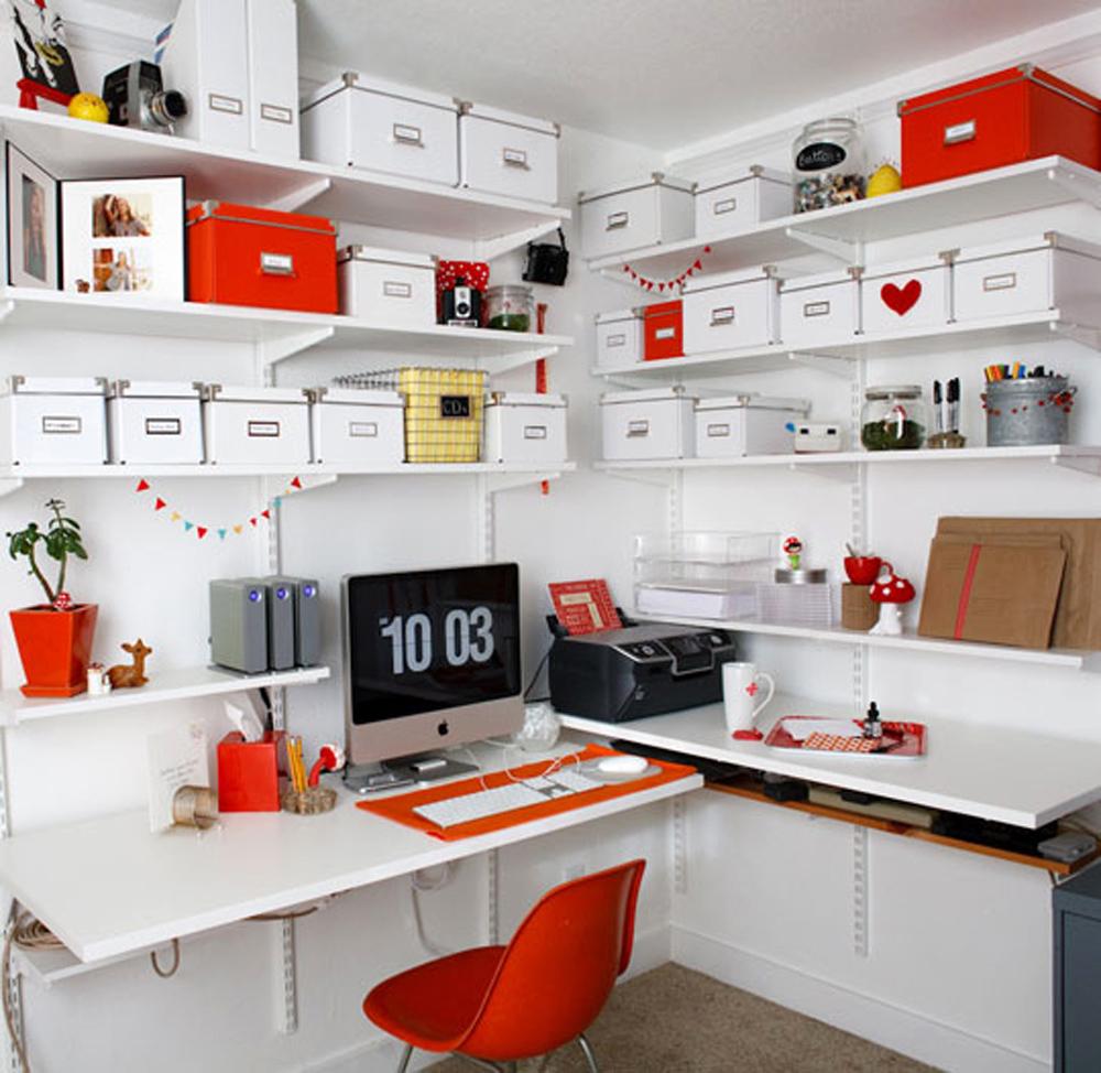 ideas para decorar tu oficina en casa mujer de