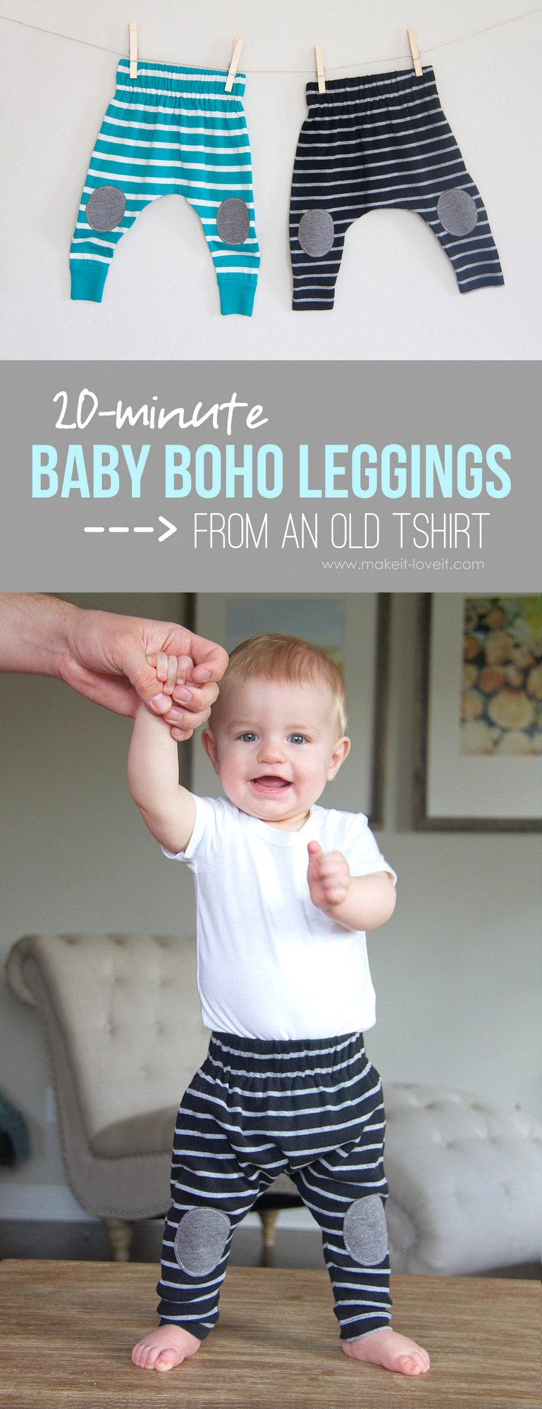 Simple-20-minute-Baby-Boho-Leggings-from-an-old-Tshirt-1