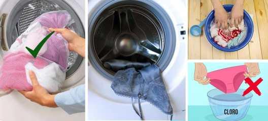 lavar tu ropa interior