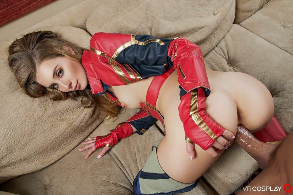 Fotos porno de capitana Marvel