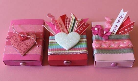 El 14 En Dia De Y Arreglos Para Febrero De Del Amor De La Amistad 14 Madera Febrero Caja