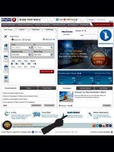 Página principal Turkish Airlines