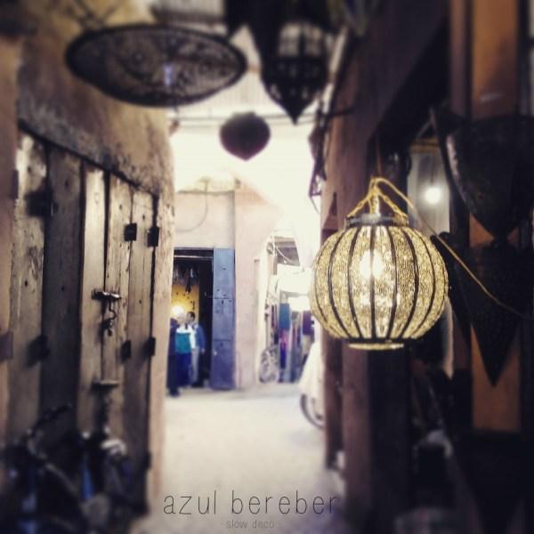 Marrakech. Azul bereber.