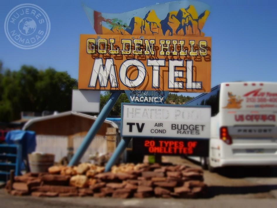Motel de carretera que puedes encontrar