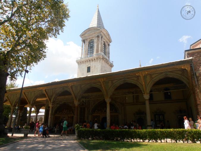 Acceso al Palacio de Topkapi. Fotografía de Ziortza Bayón.