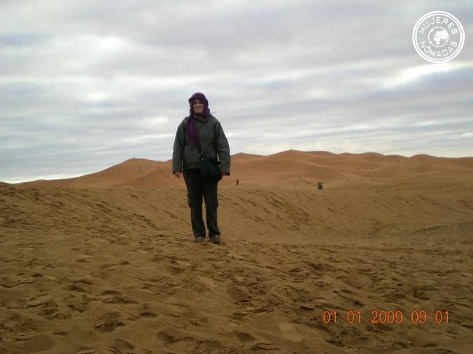 Bereber en el desierto