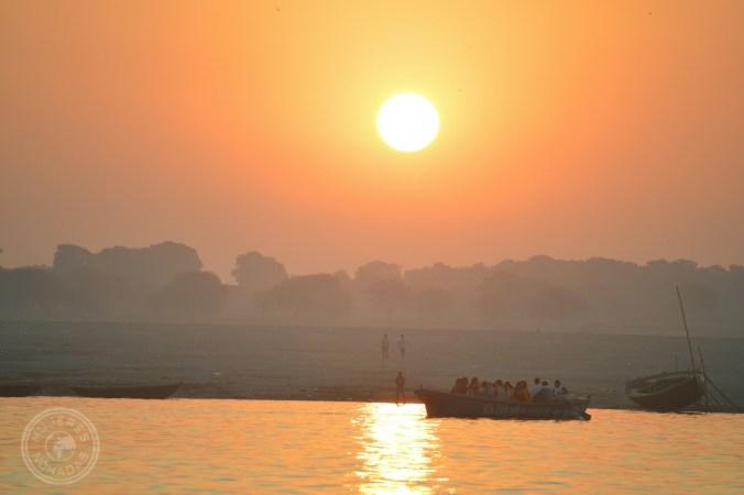 Amaneciendo en Varanasi