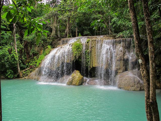 Cataratas Erawan en Tailandia