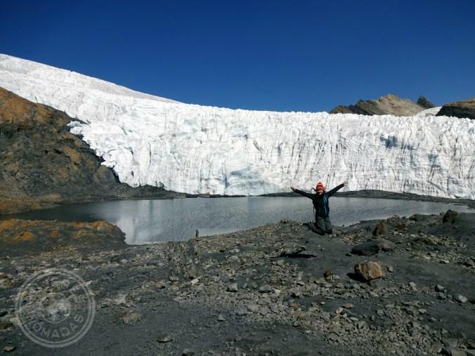 Alcanzando los 5.000 m. de altura en el Nevado Pastoruri
