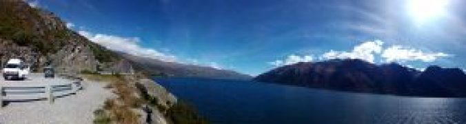 Camino a Milford Sound