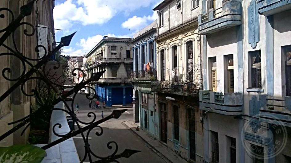 Vista del Centro de La Habana desde el balcón del hostal