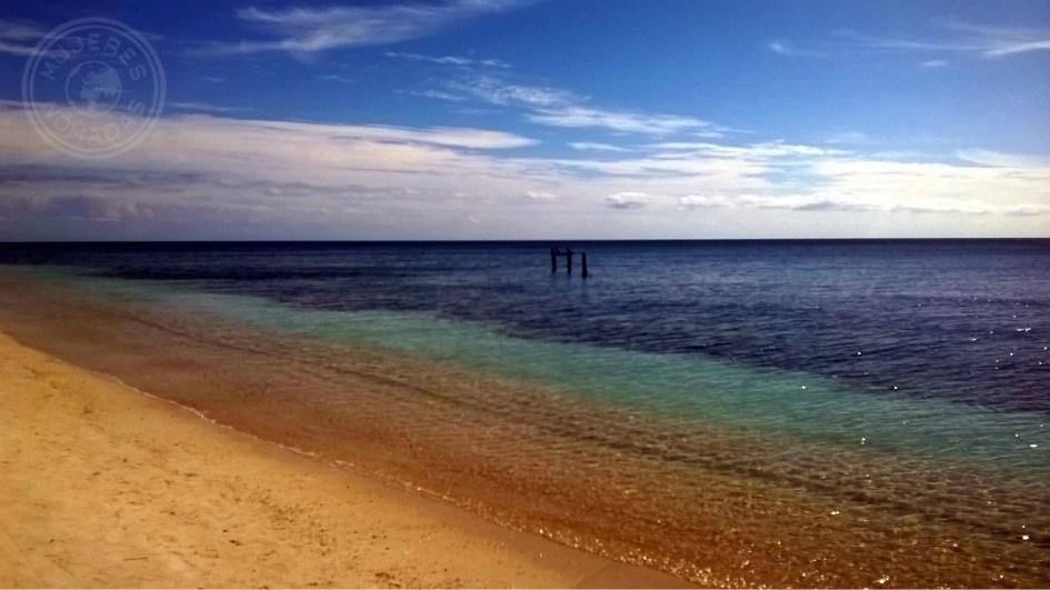 Playa Ancón, a menos de 15 km de Trinidad