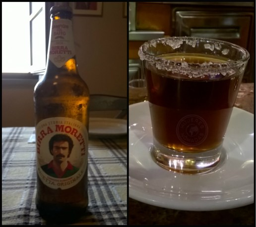 Bebidas típicas.