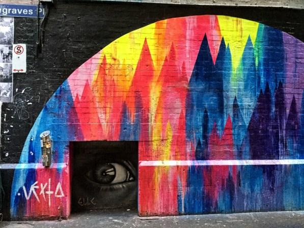 Grafitis en Melbourne.