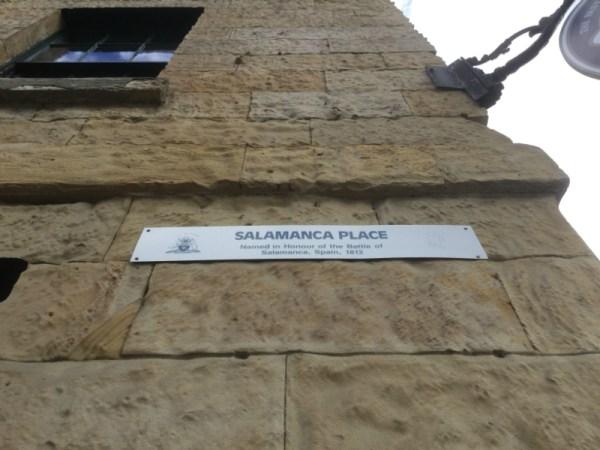 Salamanca Square.