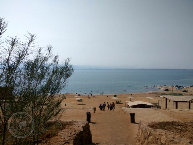 Amman Beach. Mar Muerto.