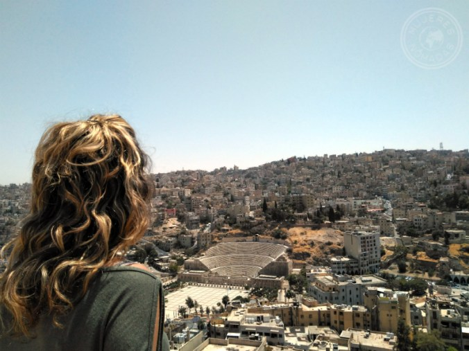 Mi llegada a Amán, capital de Jordania.