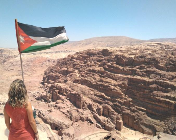Vistas de Petra desde el Sacrificio.
