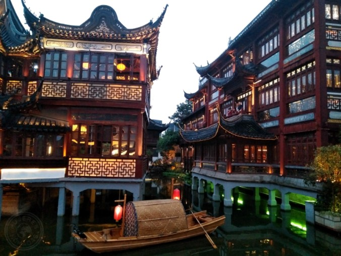 Yuyuan Garden, Shanghái.