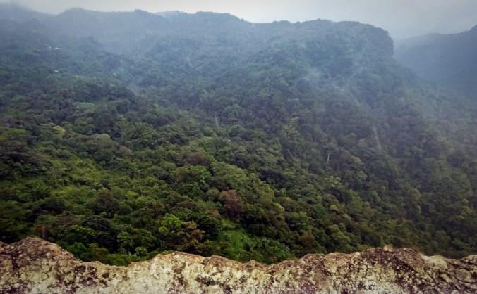 Panamá. En la cima de La India Dormida.