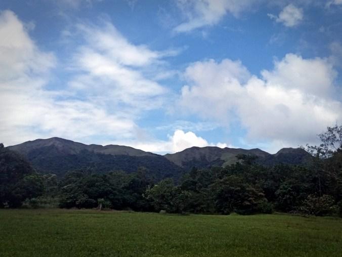 Panamá. Cordillera de La India Dormida.
